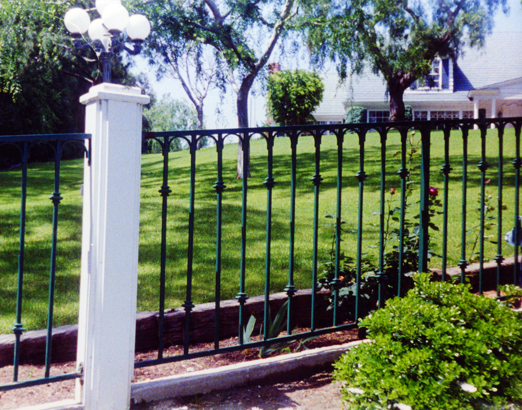 Smooth Top Single Rail Fence The Iron Anvil Salt Lake
