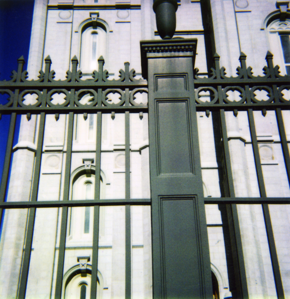 SLC Temple East Gates