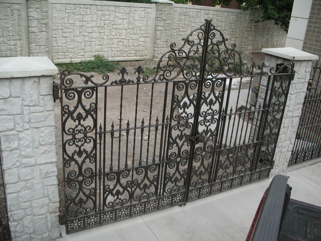 Antique Iron Gates The Iron Anvil Salt Lake City Utah