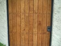 61-0245-Iron-Anvil-Gates-Man-Arch-DORAN-TAYLOR-WOOD-GATE-STEEL-FRAME-99-