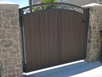 61-0249-Iron-Anvil-Gates-Man-Arch-ANDERSON-27545-TREX-GATE-PUSH-BUTTON-LOCK-991
