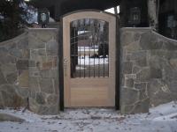 61-0312-Iron-Anvil-Gates-Man-Arch-TAYLOR-17715-GRAVES-WOOD-RED-OAK-399