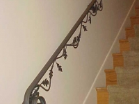 iron-anvil-handrails-wall-mount-molded-cap-vine-oak-leaf-10-0040