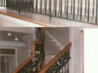 iron-anvil-railing-double-top-valance-casting-oak-classic-milkyhollow-10-4511-rail-interior-model-home-2-7
