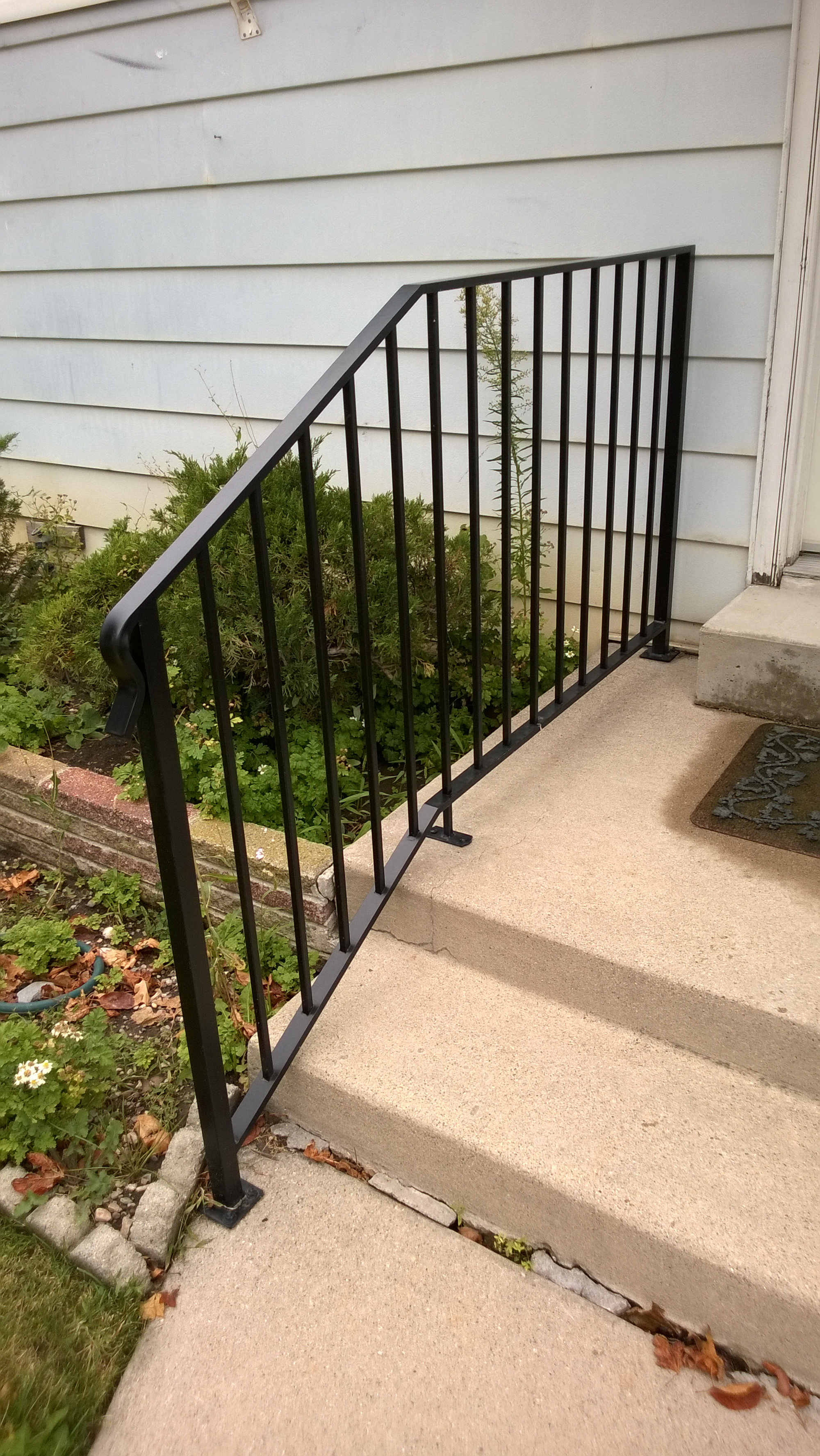 10-0120-Iron-Anvil-Railing-Single-Top-Simple-tube steel (9)