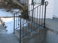 10-0120-Iron-Anvil-Railing-Single-Top-Simple-tube steel (3)