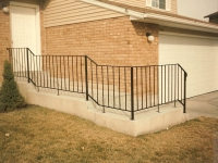 10-0120-Iron-Anvil-Railing-Single-Top-Simple-tube steel (6)