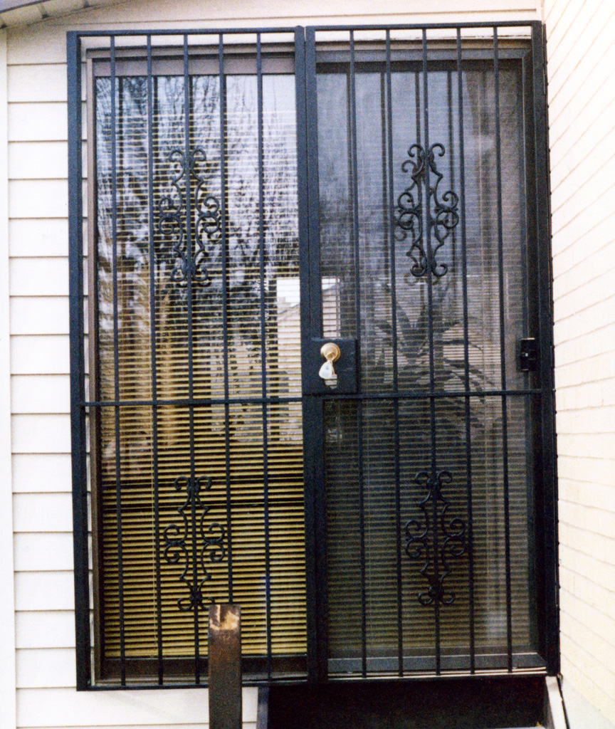 Security Window Grates Window Guards Doors The Iron