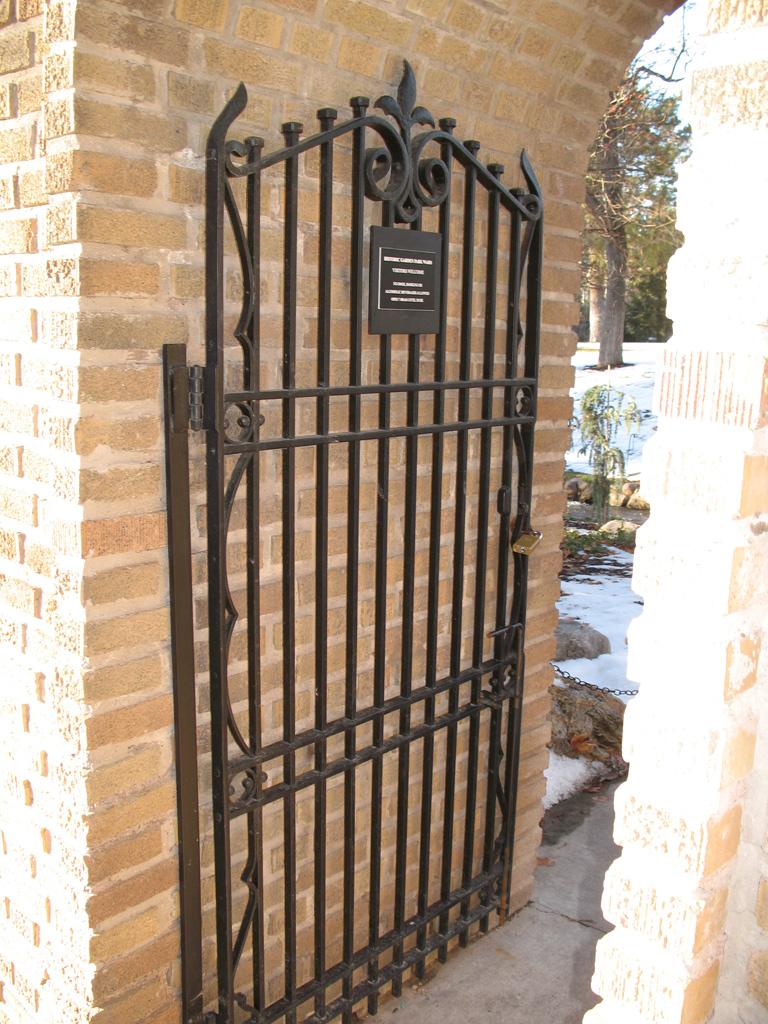 Antique Iron Gates The Iron Anvil Salt Lake City Utah